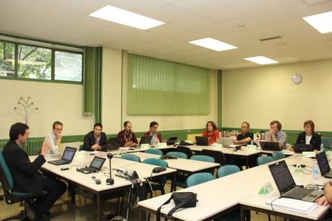 Workshop de Diffusion Coefficient Mixtures ligado a la Agencia Espacial Europea, en MU