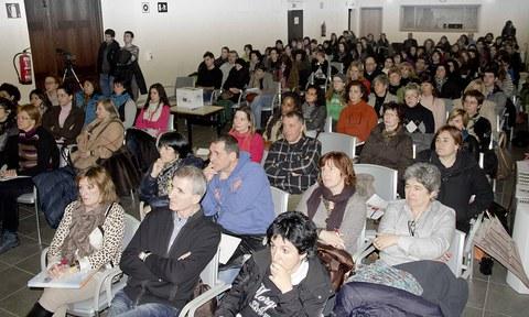 Exitosa jornada sobre cuidados paliativos a cargo de Arizmendi Ikastola