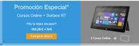 Promoción de Ategi: tableta móvil Surface RT 32GB  y 3 cursos online