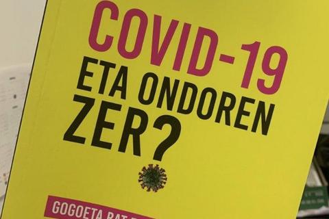"""""""COVID-19 eta ondoren zer?"""" liburuan, pandemiaren ondorioak eta erronkak aztergai"""