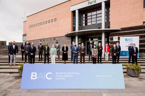 30 erakundek baino gehiagok adierazi dute interesa Basque Artificial Intelligence Centerrera biltzeko