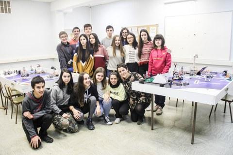 Arizmendi Ikastolako taldeak prest First Lego League Euskadiko kanporaketa jokatzeko