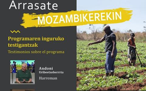 'Arrasate Mozambikerekin' hitzaldiak abenduan zehar