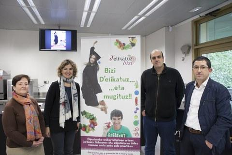 Basque Culinary Centerrek D'elikatuz Bizi kanpainan parte hartu du elikadura osasuntsua eta jarduera fisikoaren garrantziaz kontzientziatzeko