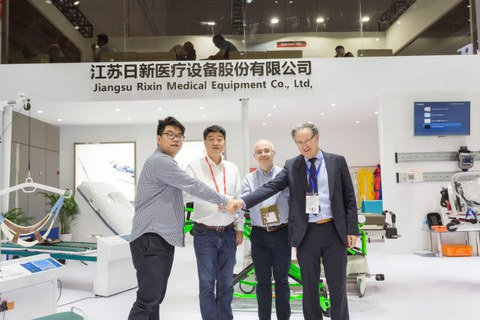 BEXEN Cardiok aliantza egin du Jiangsu Rixin Medical Equipment txinatarrarekin