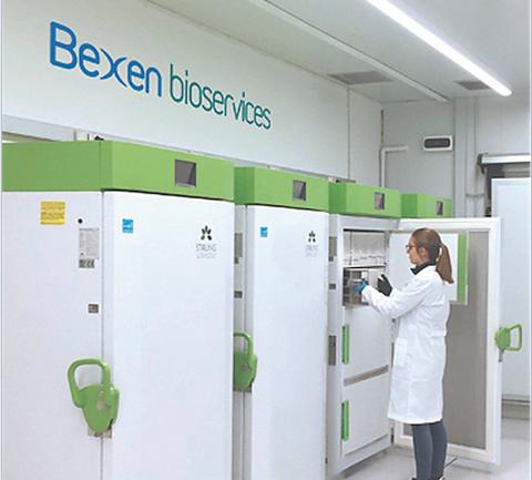 Bexen Medicalek lehen biogordailu pribatua sortu du lagin biologikoetarako