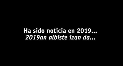 2019ko albiste nagusiak