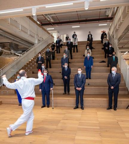 Bilbao As Fabrik inauguratu dute Bilboko Udalak eta Mondragon Unibertsitateak