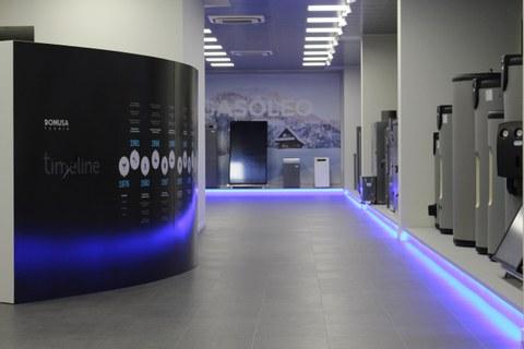 Domusa Teknikek showroom berria inauguratu du