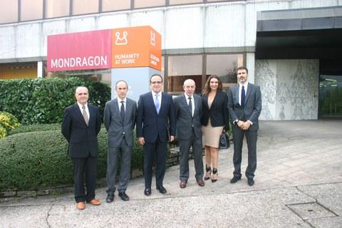 Ekuadorreko Industria eta Lehiakortasun ministroaren bisita