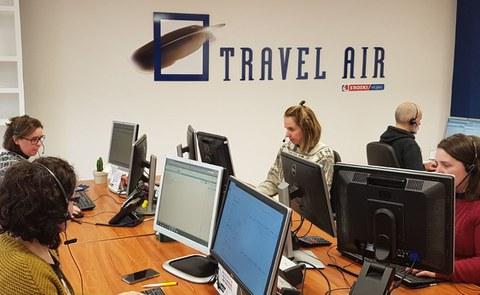 Enpresa bidaietarako informazio eguneratua eskaintzen du Travel Air-ek