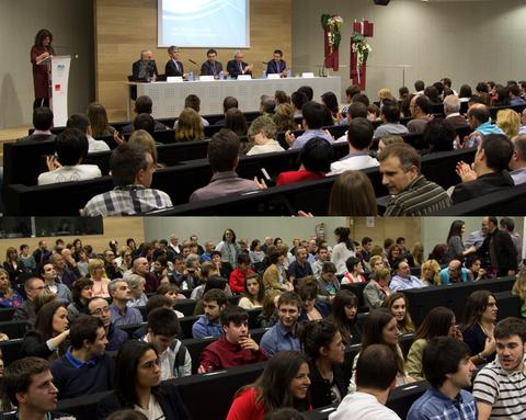Enpresagintzako 109 ikaslek graduko eta graduondoko diplomak jaso dituzte