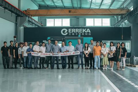 Erreka Plasctics kooperatibak lantegi berria inauguratu du Txinan