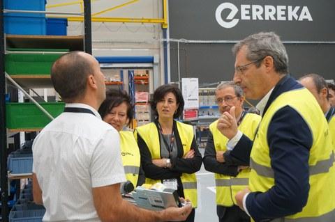 Erreka Sarbide Automatikoak negozioak 2,5 milioi euro inbertitu ditu Bergarako lantegi berrian
