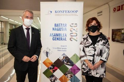 Euskadi berreraikitzeko prozesuan parte hartzeko borondatea eta konpromisoa eskatu ditu KONFEKOOPek
