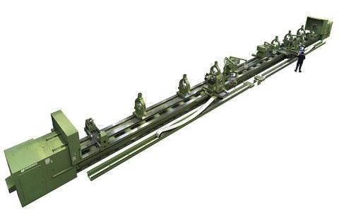 Fagor Automationeko CNC sistemekin 28 metro luze den makina ekoiztu da