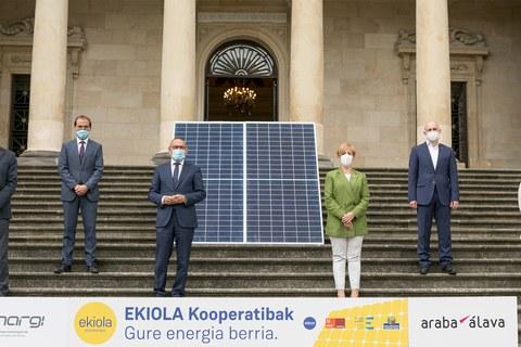 Foru Aldundiak, Eusko Jaurlaritzak eta Kreanek sei energia-kooperatiba sustatuko dituzte Arabako kuadrilletan