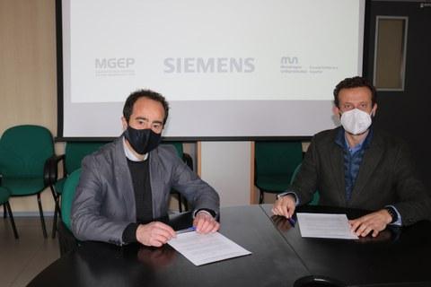 Goi Eskola Politeknikoak eta Siemensek hitzarmena sinatu dute
