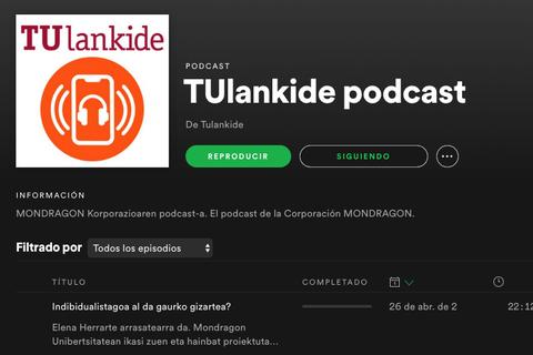 Jarraitu TU Lankide podcast plataforma nagusienetan