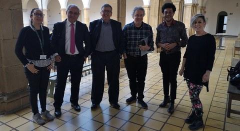 Kolonbiako ordezkaritza baten bisita jaso du Mondragon Unibertsitateak