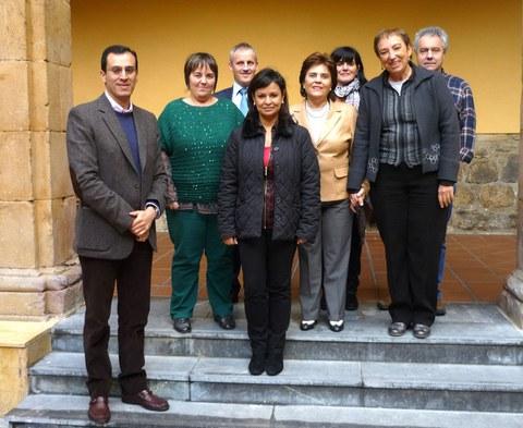 Kolonbiako Universidad Unipanamericanako ordezkariak MUn izan dira