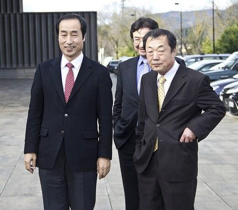 Kooperatibismoaren inguruan formakuntza saioa eskaini zaie, Koreako Seodaemun distrituko ordezkariei