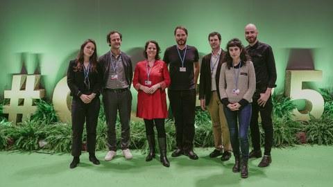 KREANek abenduan Madrilen egin den aldaketa klimatikoaren Konferentzian parte-hartu du