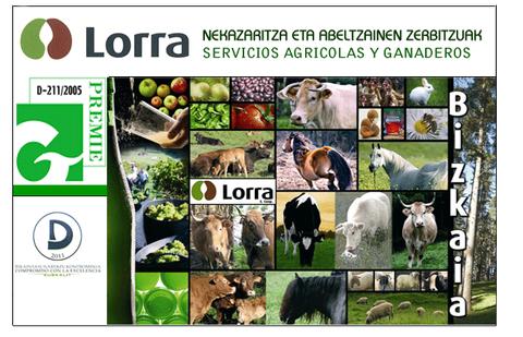 Laboral Kutxak lankidetza berritu du Lorra nekazaritza kooperatibarekin