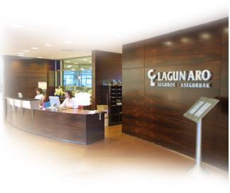 Lagun Aro Aseguru-etxeak Best Customer Experience Awards Spain 2012 saria irabazi du aseguru-etxeen kategorian