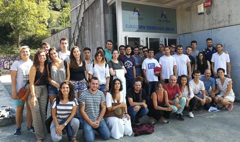 Lea Artibai Ikastetxea eta Basque Culinary Center-eko ikasleek lankidetza proiektua garatu dute