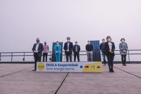 Leintz Bailarako Ekiolak eguzki-parke fotovoltaiko bat instalatuko du Arrasaten