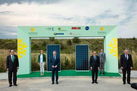 MONDRAGON eta KREAN EKIENEA Euskadiko instalazio fotovoltaico handienaren parte izango dira