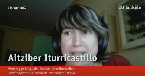 """""""Mondragon Linguak estres froga digitala era arrakastatsuan gainditu du"""""""