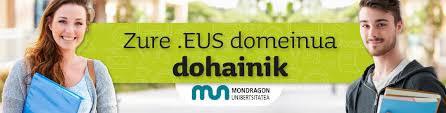 Mondragon Unibertsitateak eta PuntuEUS fundazioak euskararen erabilera sustatuko dute Interneten