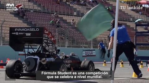 Mondragon Unibertsitateko talde bat Formula Student 2021 lehiaketan arituko da
