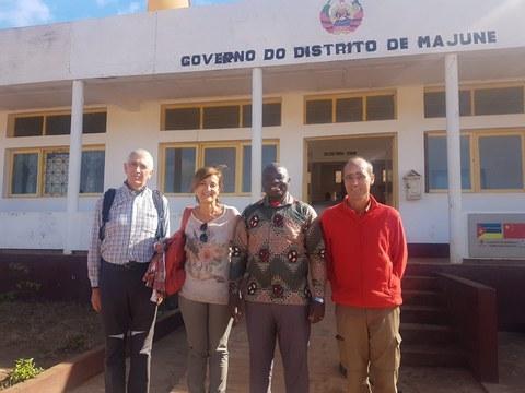 Mundukideko ordezkariak Mozambikeko Majune Distrituko Gobernuarekin bildu dira