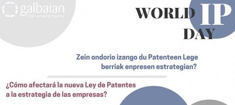 Patente lege berriak enpresetako jabetza industrialean izango duen eragina aztertzeko jardunaldia