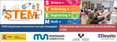 'STEM diziplinetan hezkuntzari buruzko ikuspegiak' jardunaldia