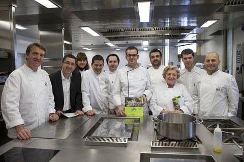 Sukaldaritza zaleek 40 gastronomia ikastaro berri izango dituzte aurten Basque Culinary Centerren