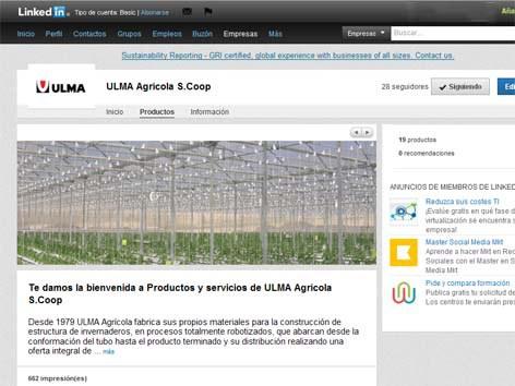 ULMA Agricola Linkedinen dago