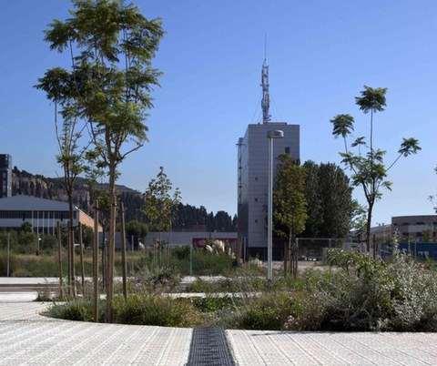 Ulma Architectural Solutions partaide Bartzelonako La Marina auzoko berrantolaketan