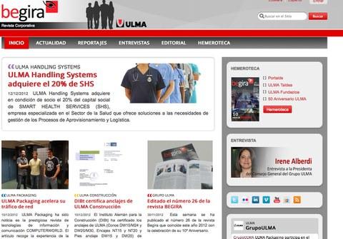 Ulma Taldearen 'Begira' aldizkariak betsio digitala estreinatu du